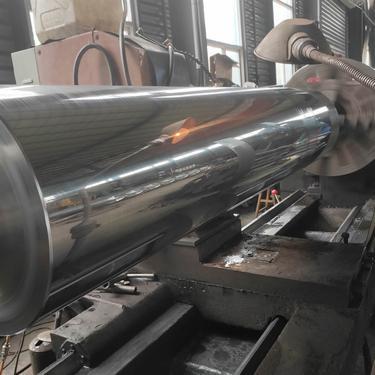 大型滚筒硬铬电镀
